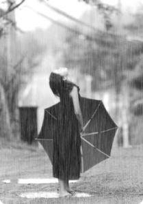 Den Regen genießen