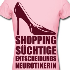 Shoppingsuechtige-T-Shirts