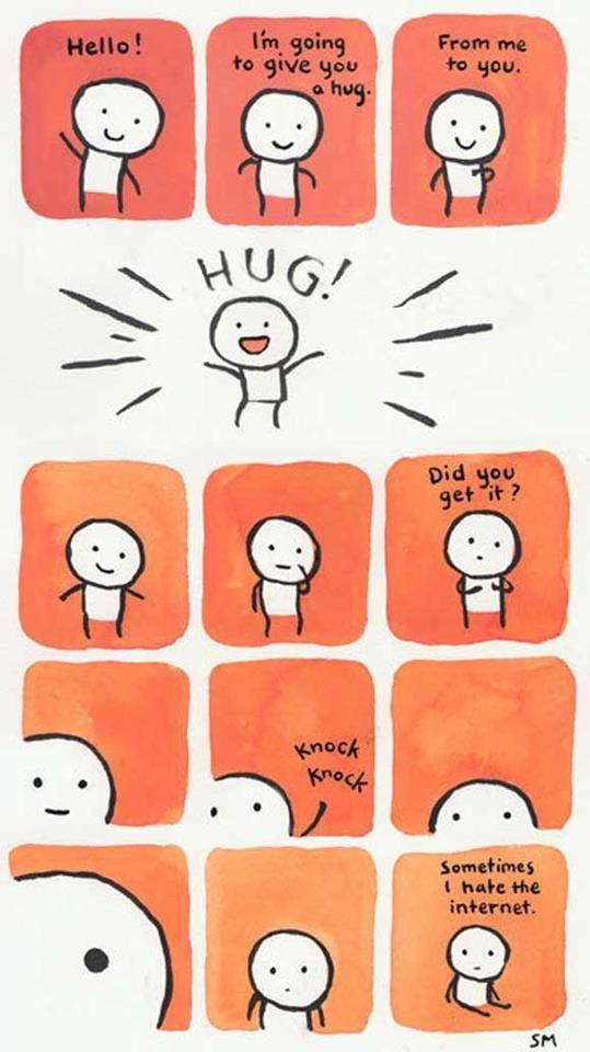 Ich umarme alle im August