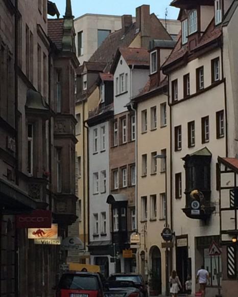 Gassen im Fränkischen